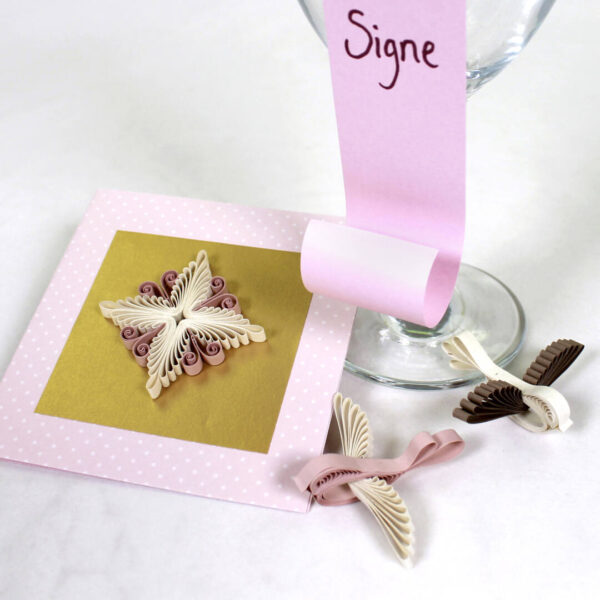 quilling tiny birds star flowers (332) 05